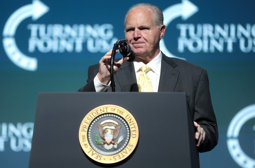 Father of News Radio and Voice of the People Between the Coasts, Rush Limbaugh, Passes