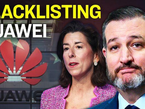 GOP Warns Americans of Biden Plan to Unshackle Huawei