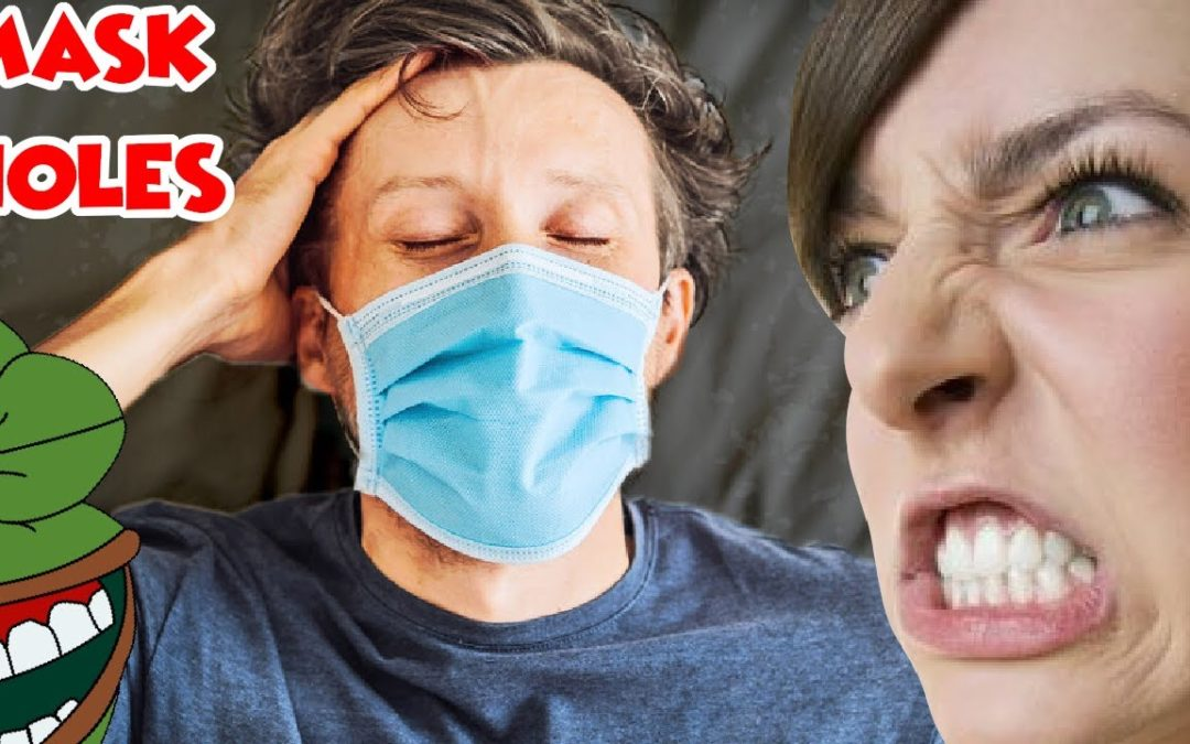 Lefty Flips Out as Husband Refuses to Take Off Mask Even During Sex –  Salty Cracker  – YT Watch
