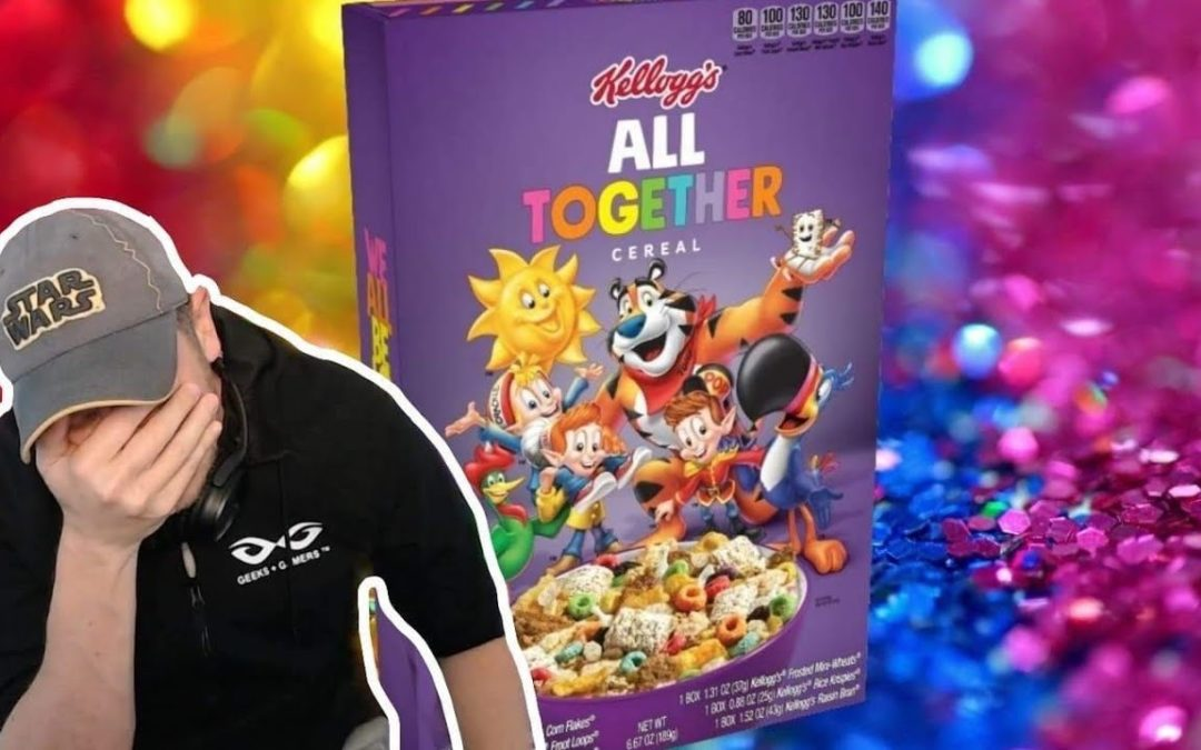 And Then They Came For CEREAL – Kellogg's Pushes PRONOUNS On Cereal Boxes –  DDayCobra  – YT Watch