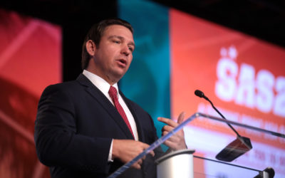 Ron DeSantis Signs Florida Voting Law as Corporations Vow to Upend Democratic Process