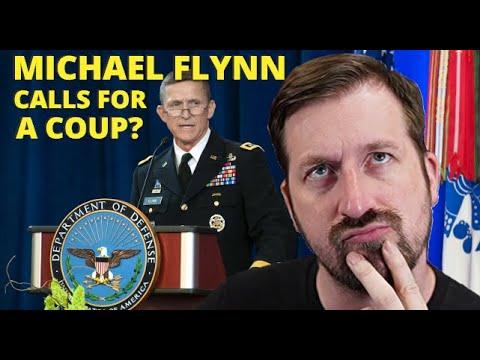 Media BLASTS Michael Flynn For Endorsing a Coup, but is it True? –  Rekieta Law  – YT Watch