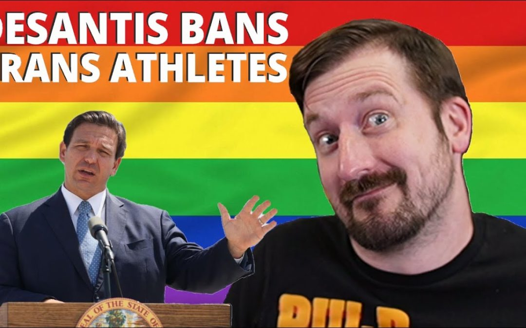 Ron DeSantis BANS Trans Athletes from Female Sports on Day 1 of Pride Month –  Rekieta Law  – YT Watch