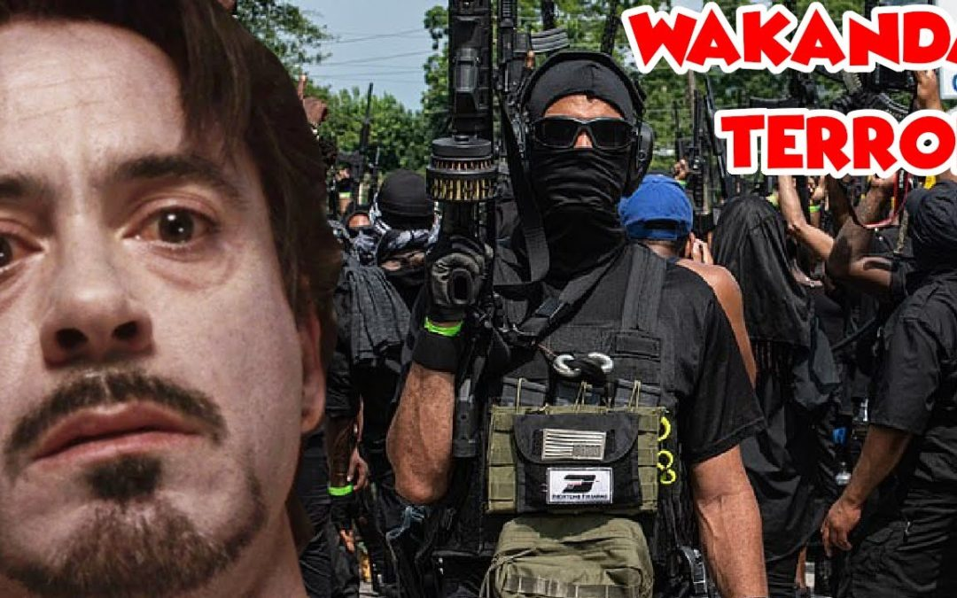 New Black Panther Party Hold Rally Promising Violence –  Salty Cracker  – YT Watch